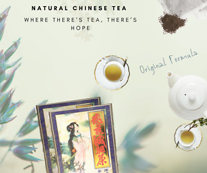 4 Pack Original Chinese Weight Loss Slimming Tea Lose Weight 80 Bags