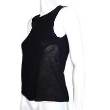 KOI SUWANNAGATE 100% Cashmere Sleeveless Sheer Side Panel Top Sz - Medium /4942