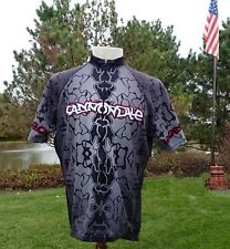 RARE Vintage Cannondale Bicycle Racing Riding Jersey Mountain Bike Lefty XL MINT