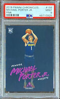 Michael Porter Jr 2018-19 Panini Chronicles Luminance Pink Rookie RC PSA 9 POP 3
