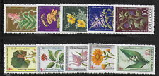 RUSSIA  1972-3     Flowers    MNH-VF   #  Y.T.   Lot