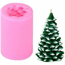 3D Christmas Tree Candle Mold Silicone Molds For Making Xmas Pine Soap Diy Cake