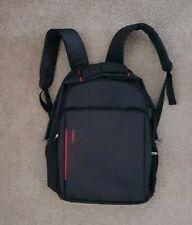 WEIBIN Black Laptop Rucksack Backpack Shoulder Bag With USB Charging Point