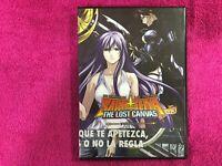 LOS CABALLEROS DEL ZODIACO DVD SAINT SEIYA THE LOST CANVAS VOL 3