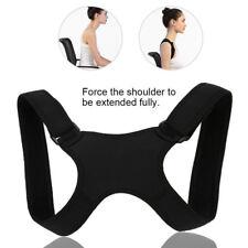 1PC Men/Women Body Shape Corrector Adjustable Back Pain Belt Brace Shoulder