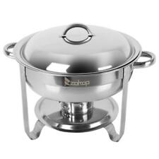 1x Full Size Buffet Catering Stainless Steel Chafer Chafing Dish Sets 5 Qt