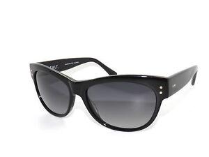 Salz Optics Mettie BK Schwarz Grau Polarisierte Sonnenbrillen Ausverkauf
