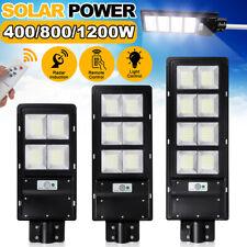 1200W 120000LM Solar Street Light PIR Motion Sensor Outdoor Yard Wall