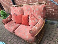 Ercol Renaissance 3 Seater Sofa In Solid Ash