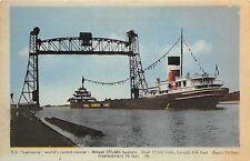S S LEMOYNE WORLD'S RECORD CARRIER SHIP POSTCARD