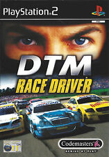 DTM RACE DRIVER for Playstation 2 PS2 - with box & manual - PAL
