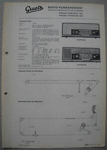 ITT/GRAETZ Komtess 1211, Chanson 1212 Service Manual