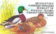 Hongrie Carnet avec 2 feuillets de 10 timbres N°3229 et 3230 (voir description)