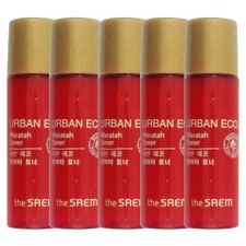 THE SAEM Urban Eco Waratah Toner Samples 5pcs - dodoshop