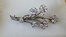 Tiffany & Co. Palladium & Diamond Bouquet Pin