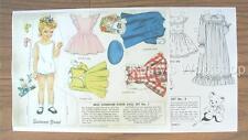 1950's MISS SUNBEAM Paper doll Set #3 REPRO---plus Bonus set