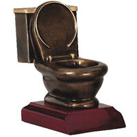 Toilet Bowl Trophy - Last Place Awards (RFG841) by DECADE AWARDS