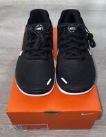 Nike Free RN 2018 Low Womens Running Shoes Black White 942837 001 NEW Size 8.5