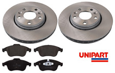 For Renault - Grand Scenic MK3 2009-2016 Front 296mm Brake Discs & Pads Unipart