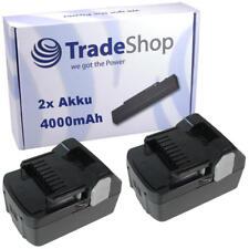 2x Akku 18V 4000mAh Li-Ion für HITACHI C18DSL C18DSL2 C18DSLP4 CG18DSDL CJ18DSL