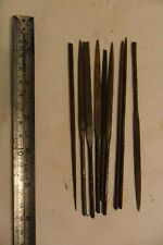 Vintage Clay Plaster Modelling Tools 9 Needle Files