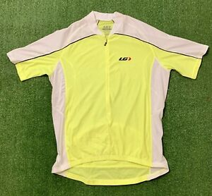 Louis Garneau Bright Yellow Cycling Jersey. Size 2XL. Good condition, see pics