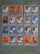 20 Match Attax - International Players - All Different - Ex. Condition - Lot 4