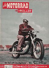 Das Motorrad + Der Roller Heft 14 Juli 1954 Test AER MACCHI 250 - BSA B31