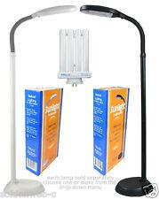 Baltoro-Power Sunlight Desk & Floor Lamp Natural Spectrum, 27 watts Black & Grey