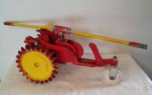 Vintage Geared Thompson Cast Iron Traveling Mechanical Lawn Sprinkler Tractor