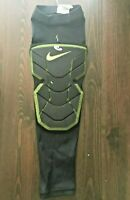 Nike Hyperstrong Padded Elbow Sleeve Small Black/Volt