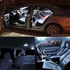 6x  White Interior LED Lights Package Kit Deal For 2009 - 2013 Toyota Corolla S