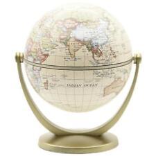 Retro 360° Rotating Globes Earth Ocean Globe World Geography Map Desktop Decor