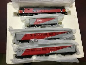 Hornby Serco rail test set   R2437 unused in mint condition
