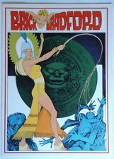 BRICK BRADFORD tavole domenicali a colori collana gertie daily 68 comic art 1979