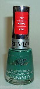 REVLON Nail Polish nail Enamel Matte Suede EMERALD 330