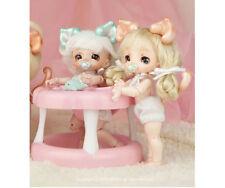 BJD 1/12 doll dollpamm BEBE Kitty Parts free eyes + face make up—human body