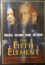 THE FIFTH ELEMENT RARE DELETED DVD TIN STEELBOOK BRUCE WILLIS LUC BESSON FILM