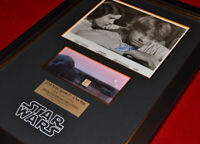 "STAR WARS Prop "" TATOOINE "" LUKE HOME, Signed MARK HAMILL, COA, DVD Set, UACC"