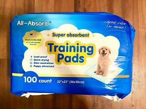 All-Absorb A01 22 inchx 23 inch Training Pads, 100 Count