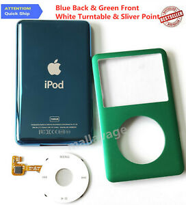 Faceplate Housing & Back Case & Clickwheel for iPod 7th /6th Gen Classic (Thin)