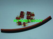 X5 Paires Prises Dean T Plug OR avec GRIP + Gaines thermo,connecteur dean t