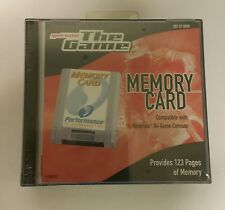 NEW 256K PERFORMANCE MEMORY CARD FOR NINTENDO 64 N64 WITH STORAGE CASE  #00306