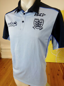HULL FOOTBALL CLUB  2017  POLO SHIRT  MENS SIZE L New with tags