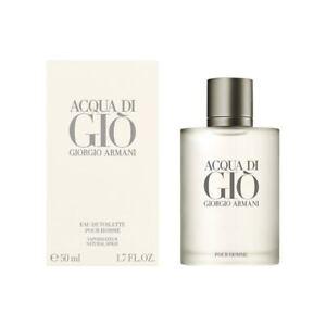 Giorgio Armani Acqua De Gio For Men Pour Homme Eau De Toilette Spray 50Ml