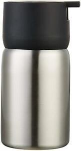 AmazonBasics Stainless Steel Soap Pump - Black
