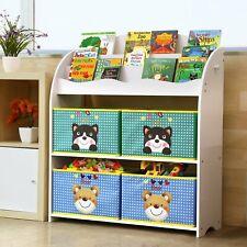 Contenitori portagiochi legno libreria Bambini per giocattoli Scaffale cameretta