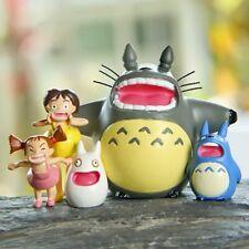 Shout Totoro Set Miniature Fairy Garden Home Houses Decoration Mini Craft Micro