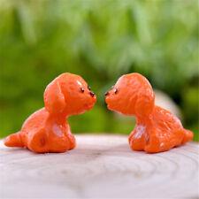 6XCute Dogs Resin Miniature Figurine Dollhouse Garden Decor Micro Landscapes Pip