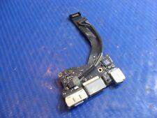 """MacBook Air 13"""" A1369 Mid 2011 MC965LL/A OEM I/O Board w/Cables 922-9963 GLP*"""